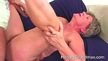 Pissing grannys Hot sperm on a grannys belly