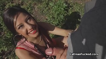 Free pick porn Picking up and fucking spicy latina outdoors