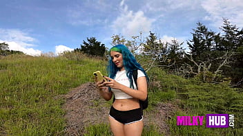 Min Galilea - Submissive girl enters private property and the only solution to get out is by surrendering her body