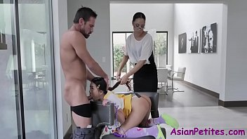 Asian Teen Punished By Couple For Trespassing- Diamond Banks