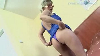 Blonde Granny Gets on a BBC