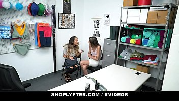 ShopLyfter - Huge Tits Milf (Mckenzie Lee) and Hot StepDaughter (Natalia Nix) Give Head To Avoid Jailtime