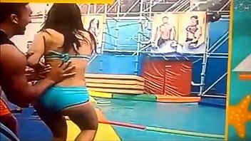 Colocha Claudia Ramirez Suarez showing her bblt vex tits