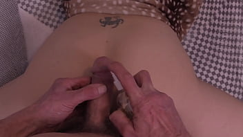 POV Anal Virgin Has Her Tight Asshole Played With And Gets A Bit Of Cock In It !!!