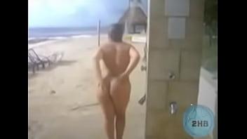 Beach Nude Bath