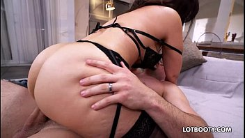 Big booty and huge tits latina MILF Sophie Leon gets fucked