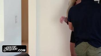 FamilyStrokes - MILF (Nina Elle) Fucks Step-Son for r.
