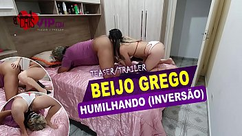 Cristina Almeida initiating on inversion, rimjob ass and humiliating her cuckold.