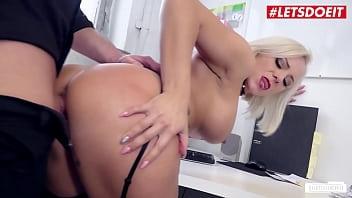LETSDOEIT - (Lilli Vanilli & Mark Aurel) Busty Secretary Takes It At Work From Her Bald Boss