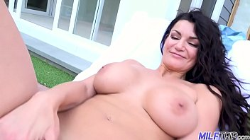 Big tits southern belle Becky strips out of her bikini then starts masturbating in front of you in first person POV ft. Becky Bandini