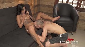 Ellas4.com - Amanda Souza enjoying very tasty