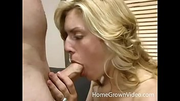 Skinny blonde amateur gets her daily dose of cock