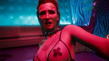 Cyberpunk 2077 Meredith Stout Romance Scene Uncensored