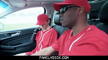 FamilyDick - Hot Black Baseball Coach Creampies A Cute Twink Boy porn image