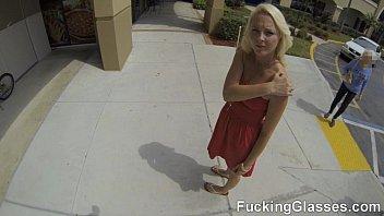 Fucking Glasses - Bj Ashley Stone On A Ride And Backyard Fuck