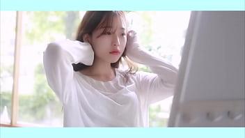 ถ่ายนางแบบสาวเกาหลีโคตรน่ารักมากเลยขาวมาก