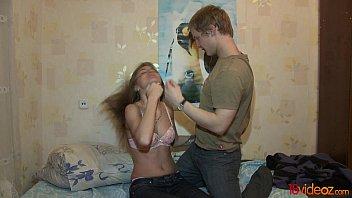 18videoz - In her 18 y.o. she Rocky fucks 3 times a day teen porn