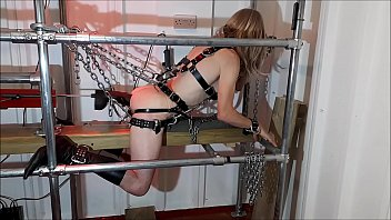 """RachelSexyMaid - 25 - Harnessed and Chained Bondage <span class=""""duration"""">14 min</span>"""