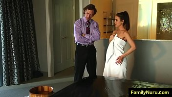 Busty daughter fucking father on vegas trip - family sex - 69VClub.Com