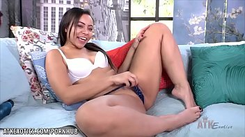 Adriana Maya Pounds Her Pussy For You