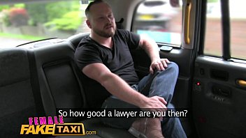 Female Fake Taxi Hot milf cabbie fucks lawyer cock on spycam for free advice