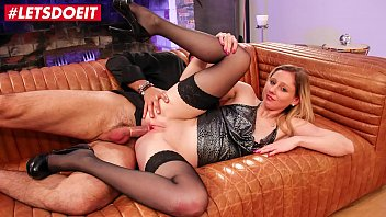 LETSDOEIT - French Hottie Has Rough Anal In Her First Porn Movie
