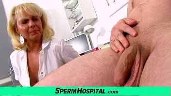 Older adults think healthcare A boy gets handjob healthcare from dirty milf doctor koko