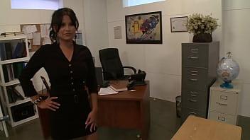 Latina office slut gets fucked by the boss