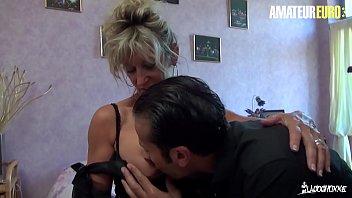 AMATEUR EURO - Big Ass MILF Marina Beaulieu Gets Her Horny Pussy Banged Hard