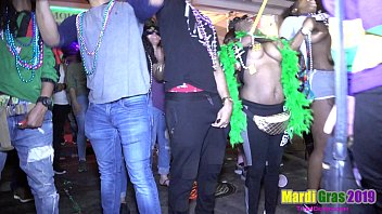 Women showing Ass, Tits and Pussy in Public during Mardi Gras 2019 thumbnail
