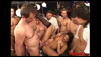 slut gangbanged by 50 guys! 097