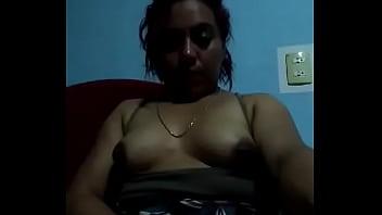 Mi tía masturbándose