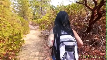 Bubblebutt inked teen sucks shlong 8分钟