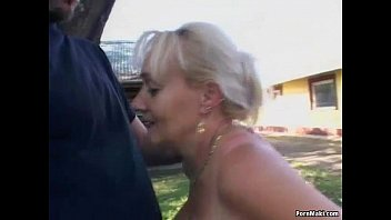 In praise of older women nude free - Busty granny gets pounded in the back yard