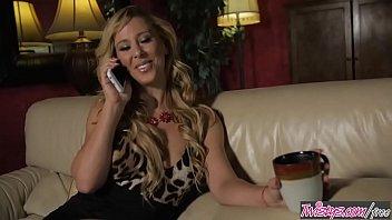 Blonde milf (Cherie DeVille) eats (Darcie Dolce) for breakfest - Twistys thumbnail