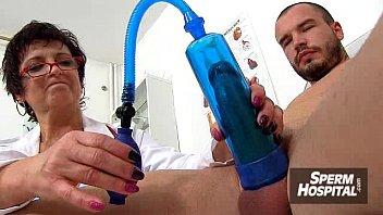 Doctor-patient harrassement feat. wicked Czech milf Gabina