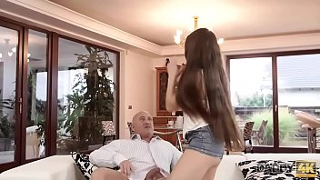 DADDY4K. Trimmed sissy of Tiffany gets penetrated by old gentleman
