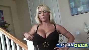 Tan Blonde MILF Holly