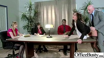 Sex Tape With Busty Horny Office Girl Clip-30