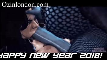 monster hentai new year happy futa sfm