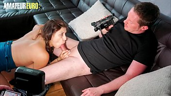 AMATEUR EURO - Busty German July Johnson Makes A Dirty Sex Tape With BF