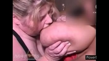 Bbw breastfeeds her friend