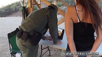 Anal cavity search 4 - First time anal fisting brunette gets pulled over for a cavity search