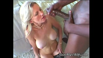 Uk hot 50 plus milfs Black dong in white granny pussy