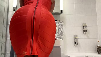 after party step brother fucks me in my sexy bodycon dress from behind - ruins my life