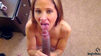 HOT WIFE EATS CUM. 11 INCH DICK xvudeo