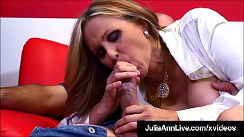 Tutor Fucking Time With Professor Julia Ann Banging Her Hard Student!