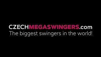 Gigantic Amateur Swingers Orgy