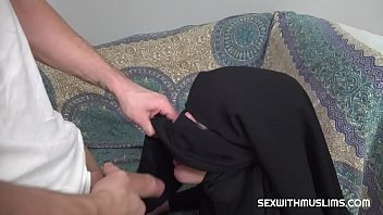 Muslim Babe Gets Given A Special Gift