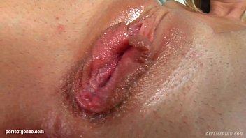 Dorina masturbates on Give Me Pink with dildo!